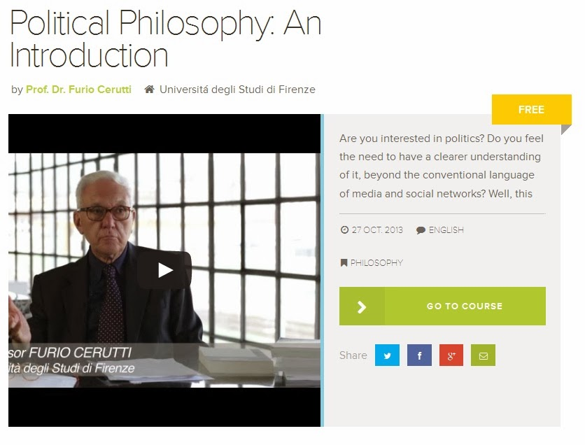 Political Philosophy course for free