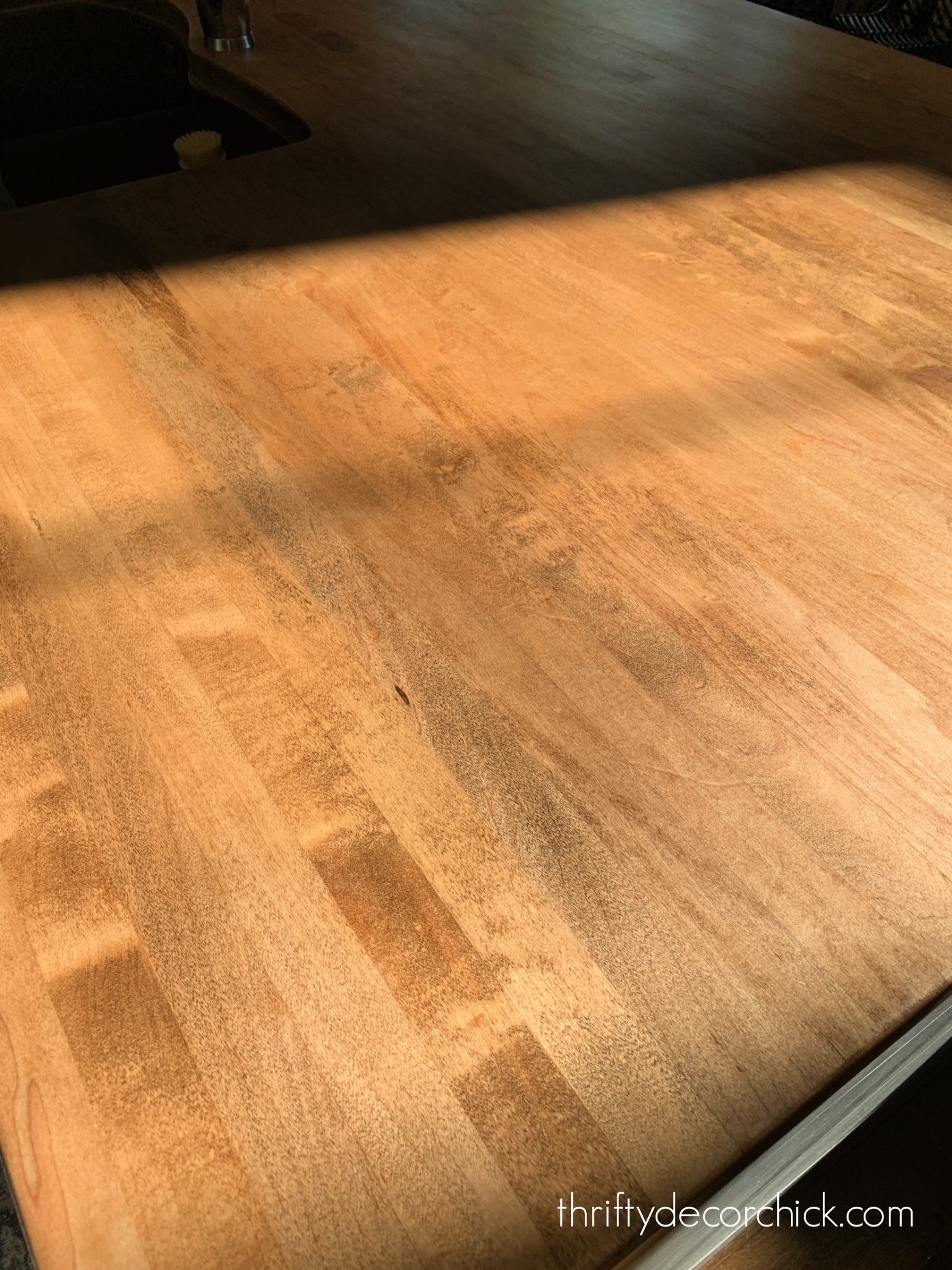 Tung oil finish on wood countertops