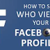 Can You Tell who is Looking at Your Facebook Page