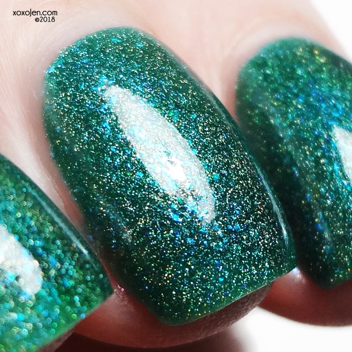 xoxoJen's swatch of Stella Chroma Pluminescence