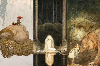 Ilustraciones de fantasía de John Bauer