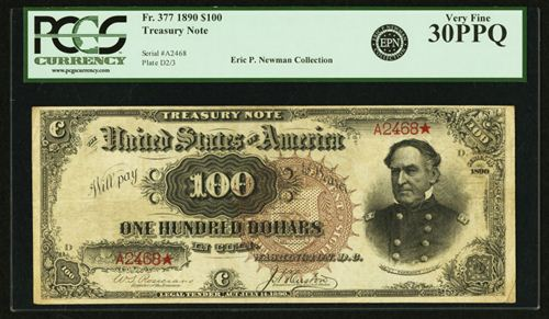 $100 Treasury Note