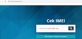 Cara Cek IMEI Android Terlengkap dan Cara Cek IMEI Asli Atau Palsu