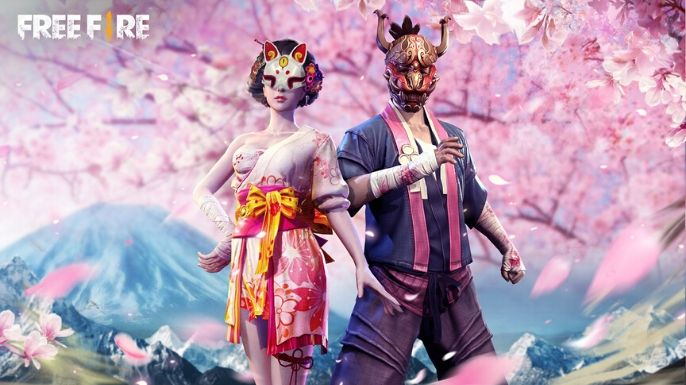 Wallpaper do passe de elite Sakura Festival
