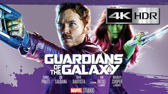 Guardianes de la Galaxia (2014) REMUX 4K UHD [HDR] Latino-Castellano-Ingles