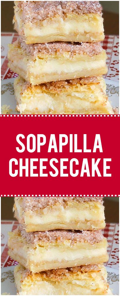 Easy Sopapilla Cheesecake Recipe