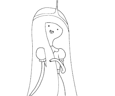 princess bubblegum coloring pages - photo#12