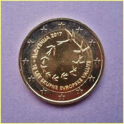 2 Euros Eslovenia 2017