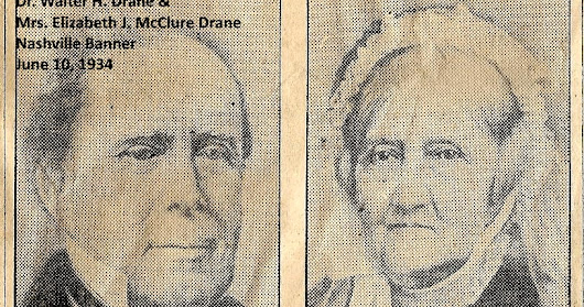 Dr. Walter H. and Mrs. E.J.M. Drane