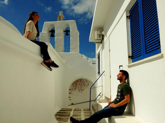 Qué ver y hacer en Paros, Grecia. Dónde dormir y dónde comer barato.