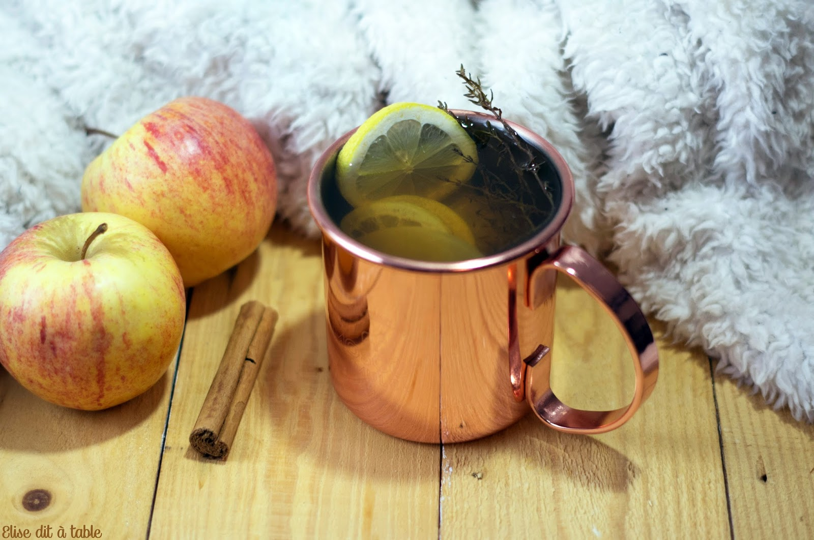 recette boisson pomme et épices