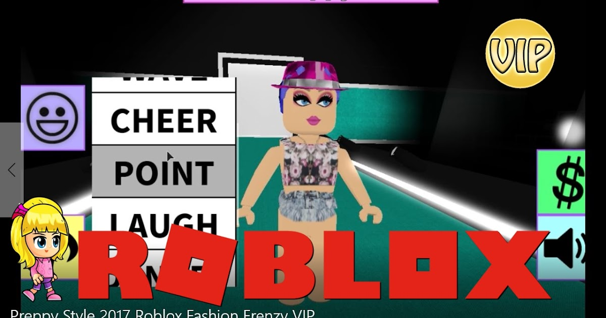 Chloe Tuber Roblox Vip Fashion Frenzy Category Preppy Gamelog