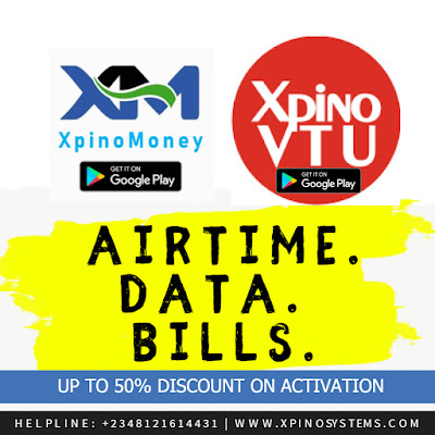 Promo, Glo, Nigeria, Xpino Systems, Business, Buy cheap data, Get Glo Data @ 20% Discount, Best App for VTU and Data, XpinoMoney, Xpino Systems