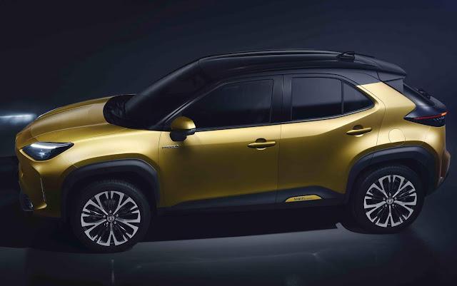 Novo Toyota Yaris Cross 2021