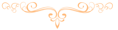 Light Orange Scroll Banner ©BionicBasil®