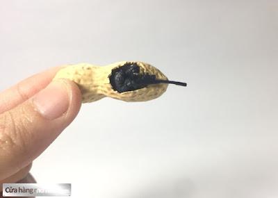 Mô hình lính bắn tỉa ẩn nấp trong hạt đậu