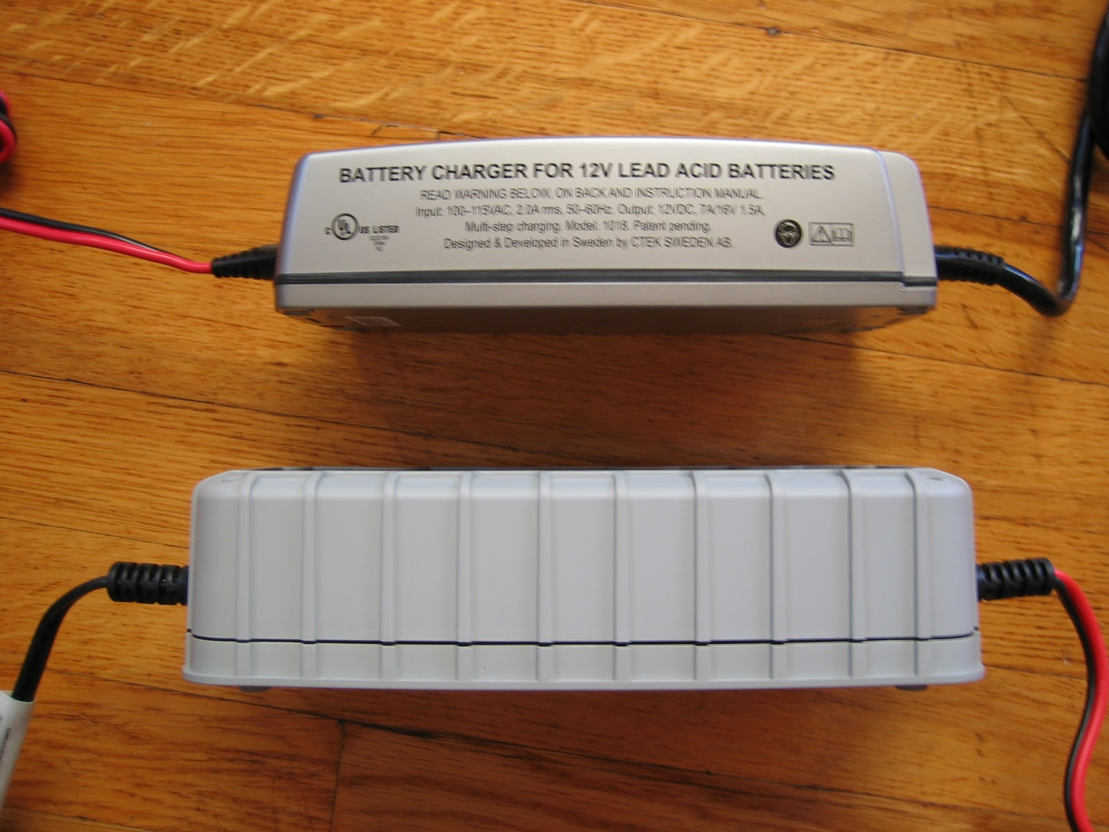 Vintage Veloce Choosing A Battery Charger Ctek Or Noco Genius Sears Parts As Well Desulfator Circuit In Bottom View