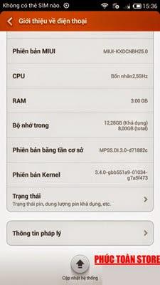 Rom gốc Xiaomi mi4 ok alt
