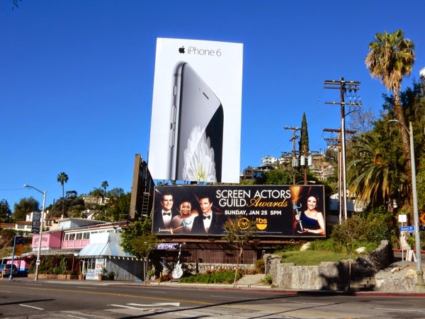 Apple iPhone 6 2015 billboard Sunset Strip