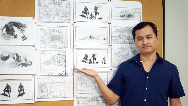 大葉多媒體學程黃懷德 擔綱李健竹展場美術設計