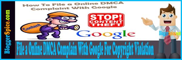 DMCA Complain