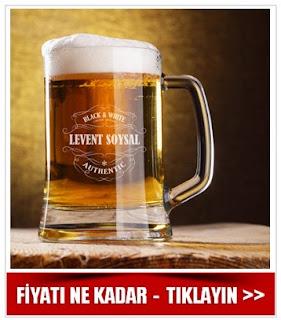 Kişiye Özel Bira Bardağı