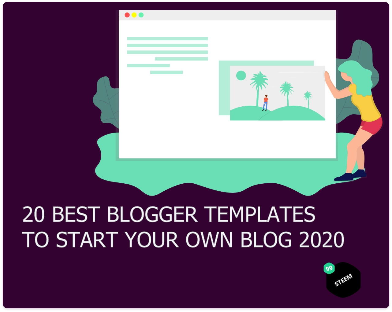 20 best blogger templates to start your own blog 2020