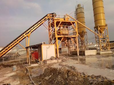 Batcing Plant Pendukung Pembangunan Infrastrukrur Jalan Tol
