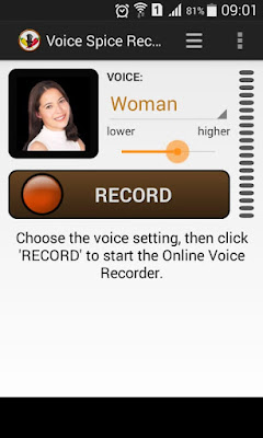 Cara merubah Suara Laki-Laki Menjadi Wanita Di Android