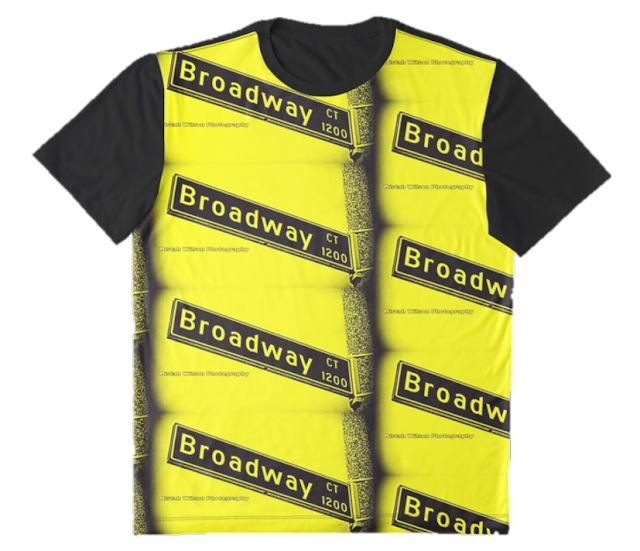 Broadway Court1, Long Beach, CA Bumblebee Graphic T-Shirt by Mistah Wilson Photography