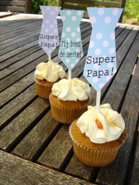 Vaderdag cupcakes Annekoendigitaal
