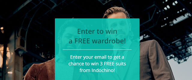 Ray And Dregs wants Canadian residents to enter for a chance to win three FREE men's suits from Indochino worth over $1600 to spruce up your wardrobe!