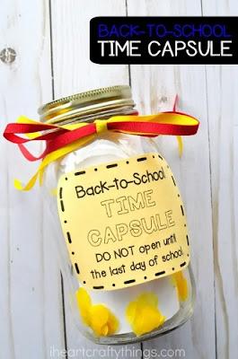 DIY Back-to-School Time Capsule