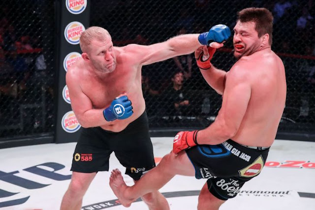 Sergei Kharitonov Knocks Out Matt Mitrione