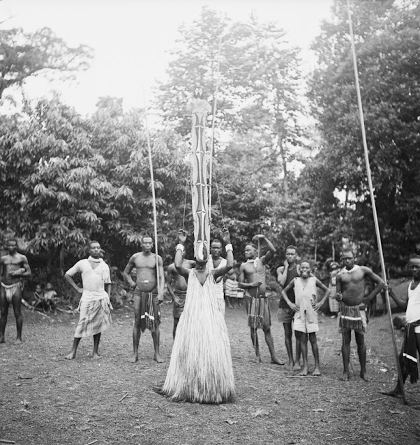 Vintage Photographs of Masquerade Dancers in Nigeria From the Early 20th Century