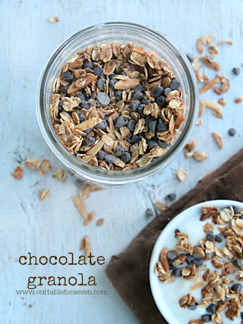 Chocolate Granola {take two}