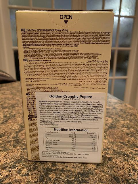 Pepero - Peanut and Pretzel Golden Crunch