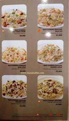 daftar menu nasi goreng di restoran imperial kitchen and dimsum mall pesona square depok nurul sufitri blogger