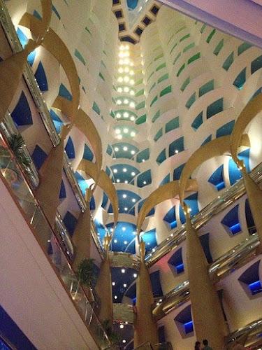 inside view of burj al arab