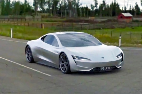 Tesla Roadster SpaceX