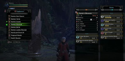 Unlock Dante, Devil Sword, Armor Set, Monster Hunter World