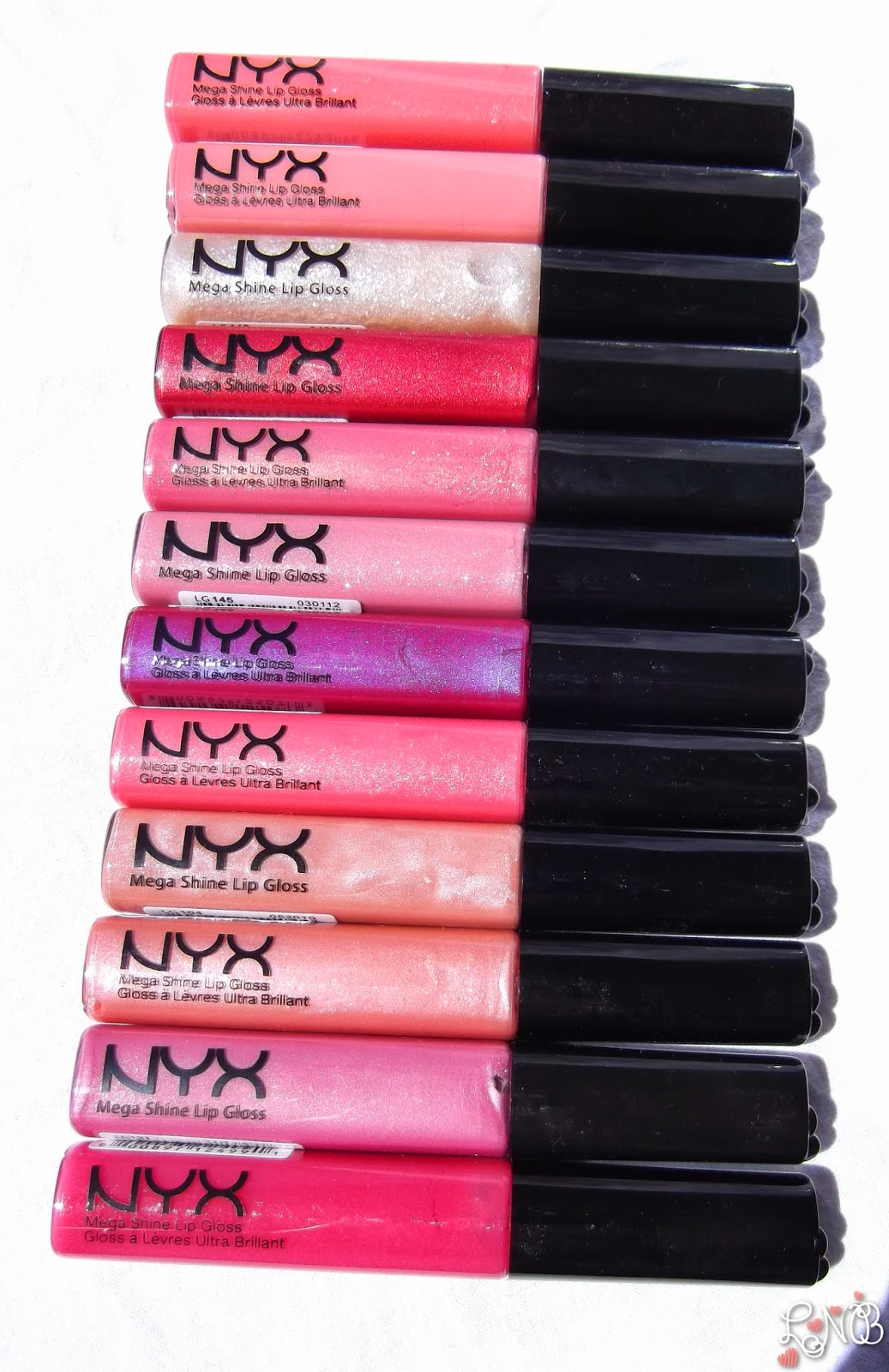 NYX  Mega Shine Lip Gloss