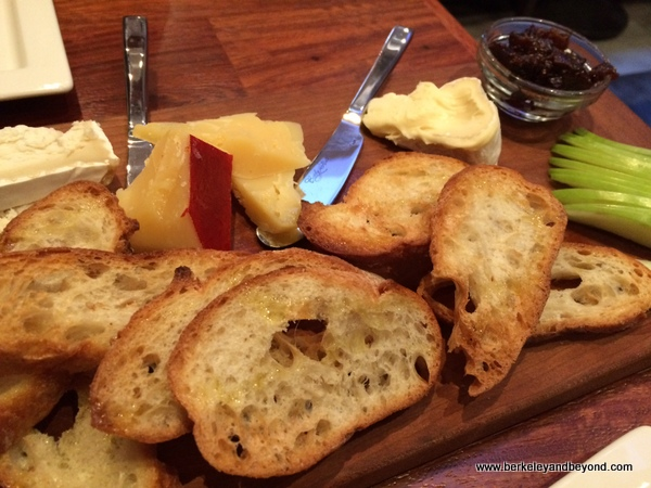 artisan cheese board at The Barrel Room in San Francisco