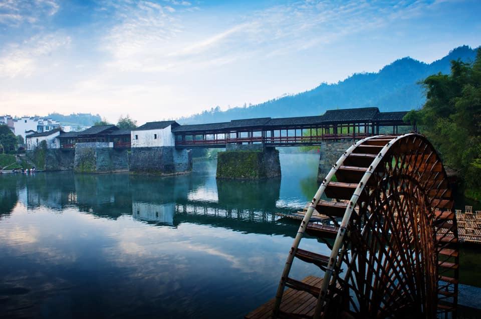 สะพานสายรุ้ง (Rainbow bridge: 彩虹桥) @ Sino Collection