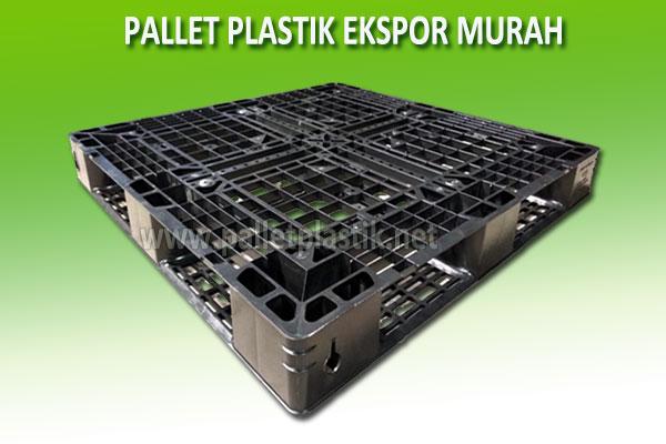 Jual Pallet Plastik Untuk Ekspor Ukuran 110 x 110 x 12 cm
