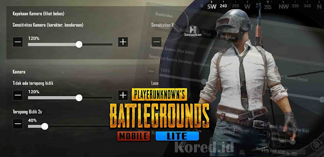 Setting Sensitivitas Pubg Mobile Lite