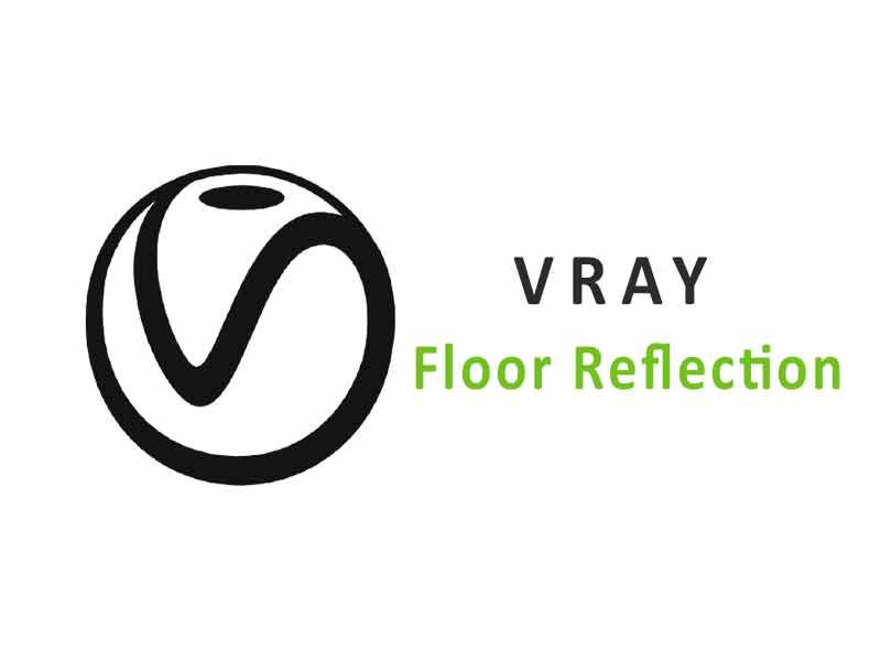 Cara Bikin Refleksi Lantai di VRay Sketchup