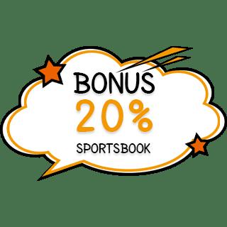 bonus deposit 20% sportsbook