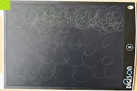 Kritzelkrakel: DIGISON DS-9500 LCD 12 Zoll Writing Tablet / Grafiktablet / Schreibtafel (Schwarz, inkl. Stift)