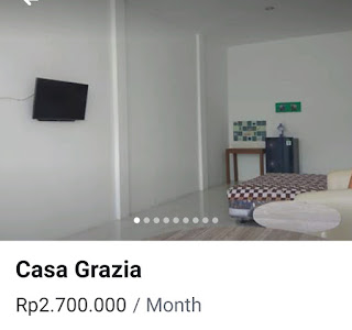 Room rent Panjer montly